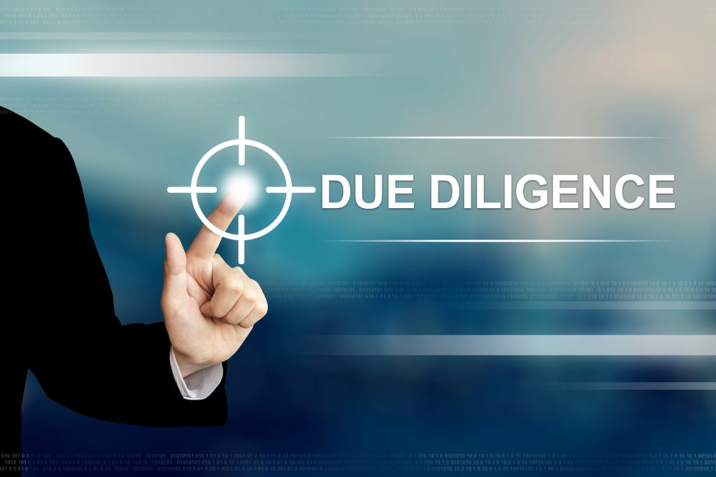 due diligence is necessary when buying an existing business
