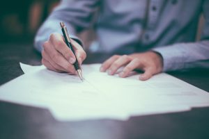 don't commit to a office lease before securing financing or creating a clause that lets you out of the contract